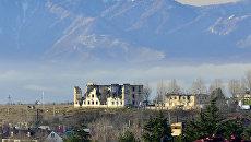 Цхинвал. Южная Осетия. Архивное фото
