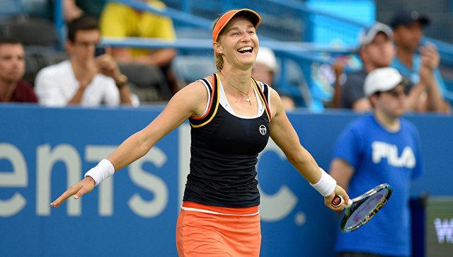 Екатерина Макарова победила на теннисном турнире в Вашингтоне. 6 августа 2017
