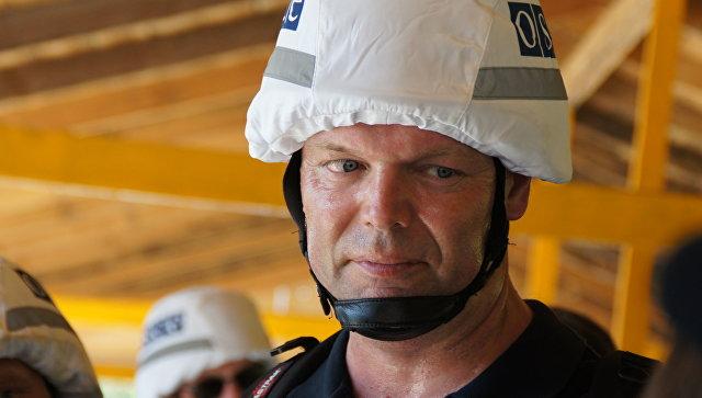 Первый заместитель главы СММ ОБСЕ на Украине Александр Хуг. Архивное фото