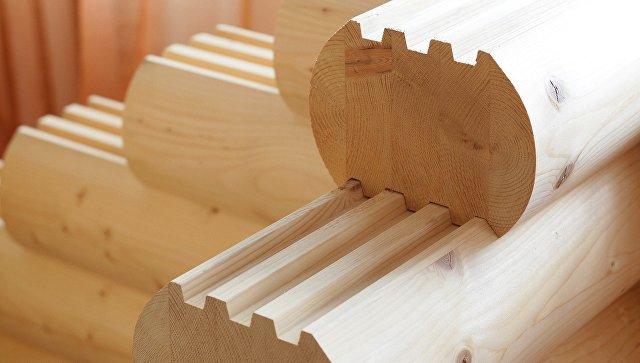 Деревянное домостроение. Архивное фото