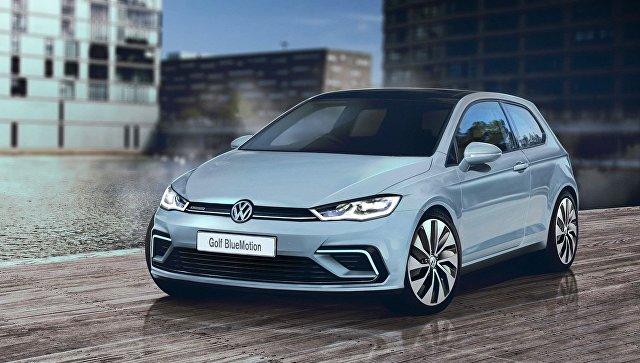 Автомобиль Volkswagen Golf. Архивное фото