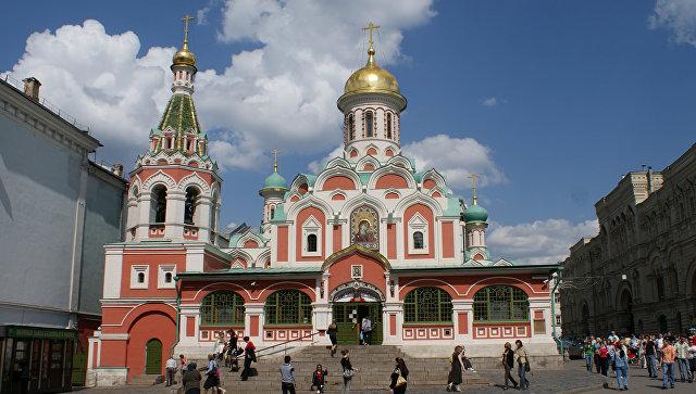 Москомстройинвест: Северный фасад Казанского храма отреставрируют