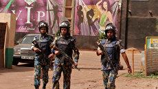 Сотрудники полиции Мали. Архивные фото