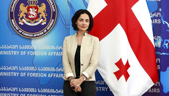 Посол Грузии во Франции Екатерина Сирадзе-Делоне. Архивное фото