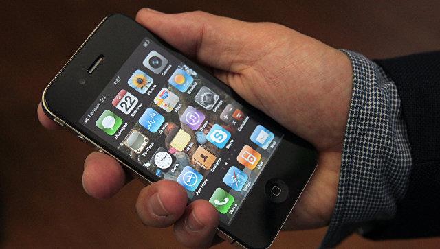 Мобильный телефон iPhone 4G