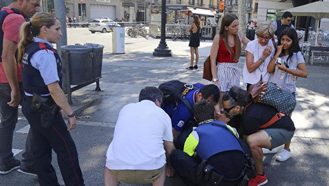 Картинки по запросу теракт Барселоне