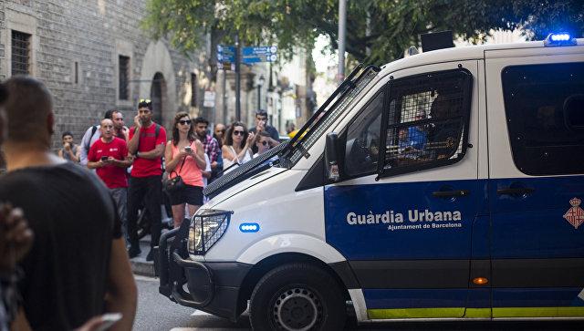 """В Барселоне разогнали митинг против """"исламизации Европы"""""""