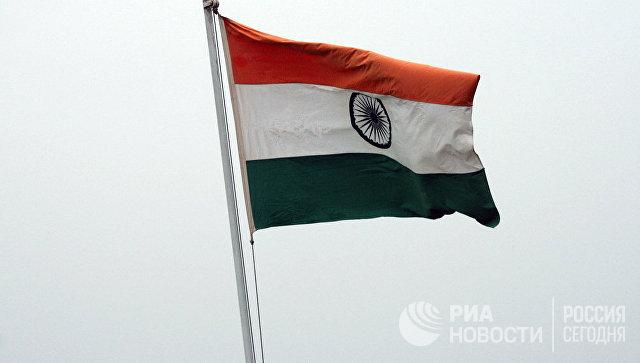 Флаг Индии. Архивное фото