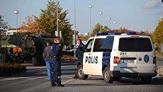 Автомобиль финской полиции. Архивное фото