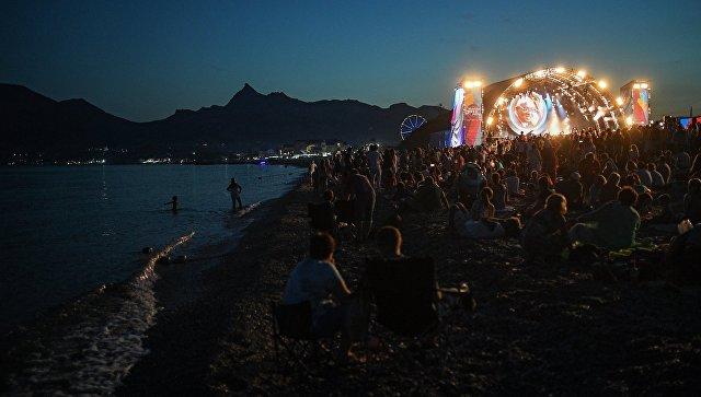 Зрители на фестивале Koktebel Jazz Party 2017