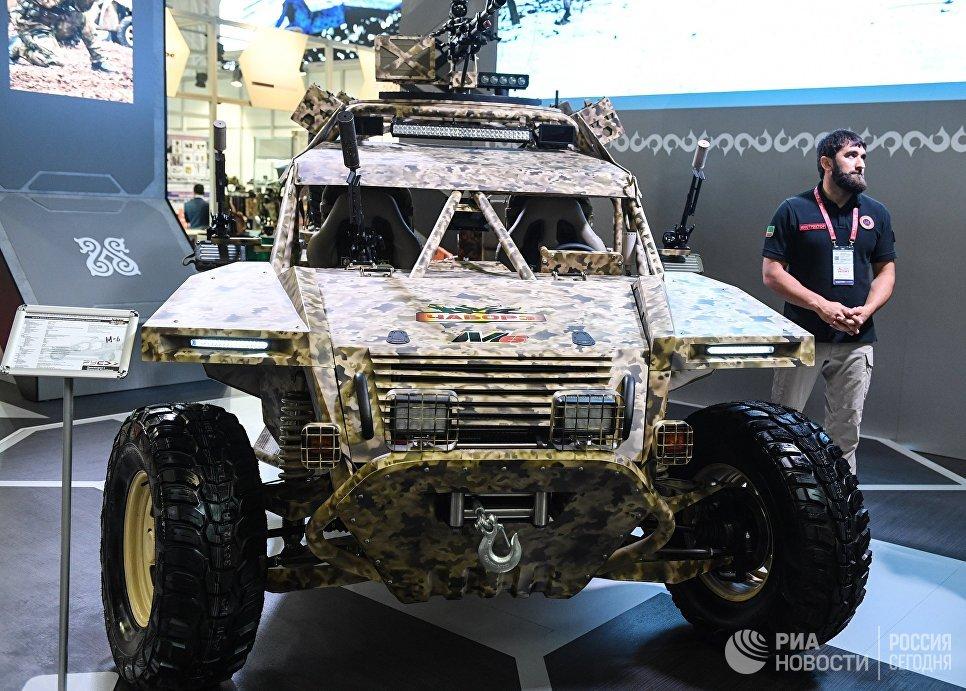 Багги Чаборз М-6 на стенде Чеченской республики на международном военно-техническом форуме Армия-2017 в Московской области