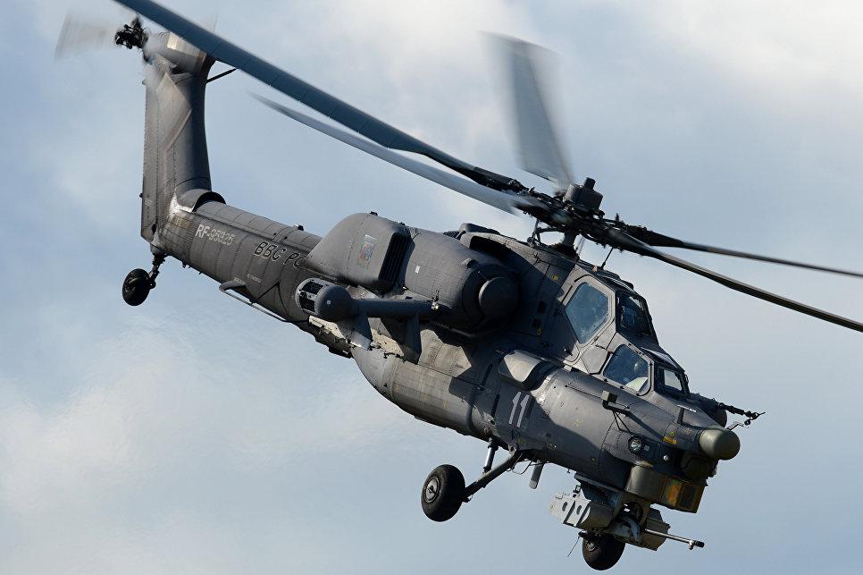 В Российской Федерации появится новый боевой вертолет