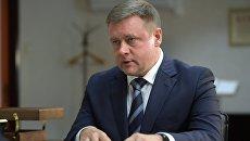 Временно исполняющий обязанности губернатора Рязанской области Николай Любимов. Архивное фото
