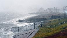 Во время урагана Харви в Корпус-Кристи, штат Техас, в Мексиканском заливе. Архивное фото