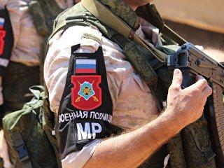 Военная полиция Вооружённых Сил Российской Федерации в Сирии. Архивное фото