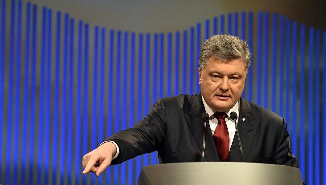 """Весь мир летает на """"украинских крыльях"""", заявил Порошенко"""