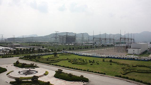 Территория Тяньваньской АЭС. Архивное фото