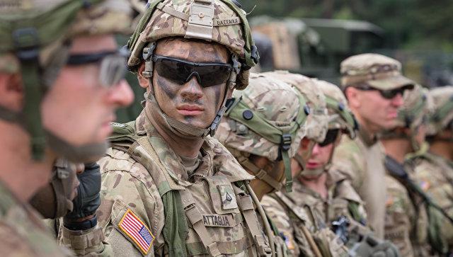 Американские солдаты на военных учениях в Польше. Архивное фото