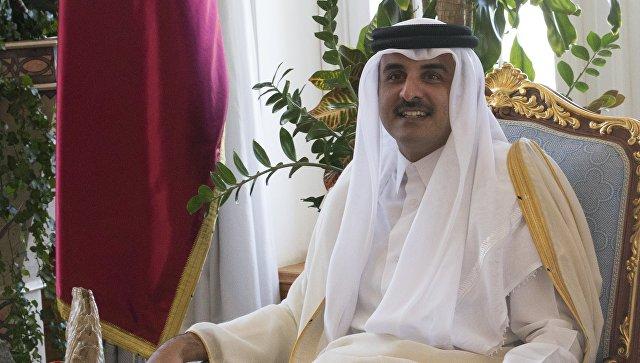 Эмир Катара Тамим бен Хамад Аль Тани. Архивное фото