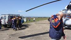 Вылет спасателей в Каларский район Забайкальского края на поиск туристов. 31 августа 2017