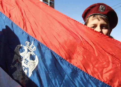 Демонстрация косовских сербов. Архив