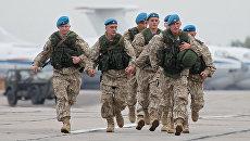 Российские военнослужащие во время учений Запад. Архивное фото