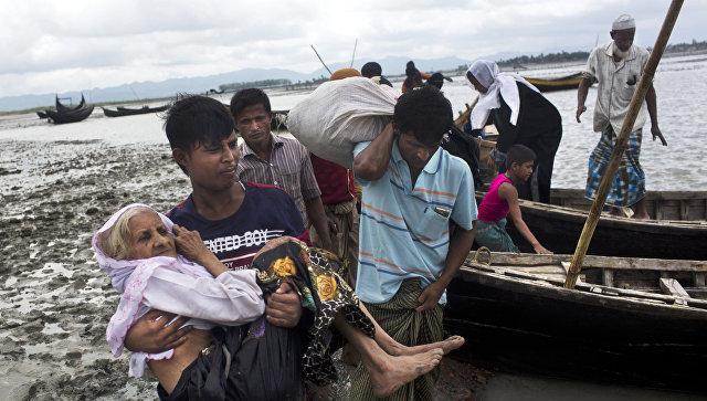 Геноцид мусульман 2017 в Мьянме