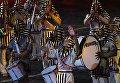 Музыканты военного симфонического оркестра Египта на торжественной церемонии закрытия X Международного военно-музыкального фестиваля Спасская башня в Москве