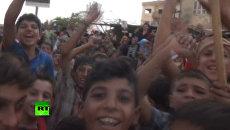 Смех детей и песни на улицах – жители Дейр-эз-Зора празднуют прорыв блокады