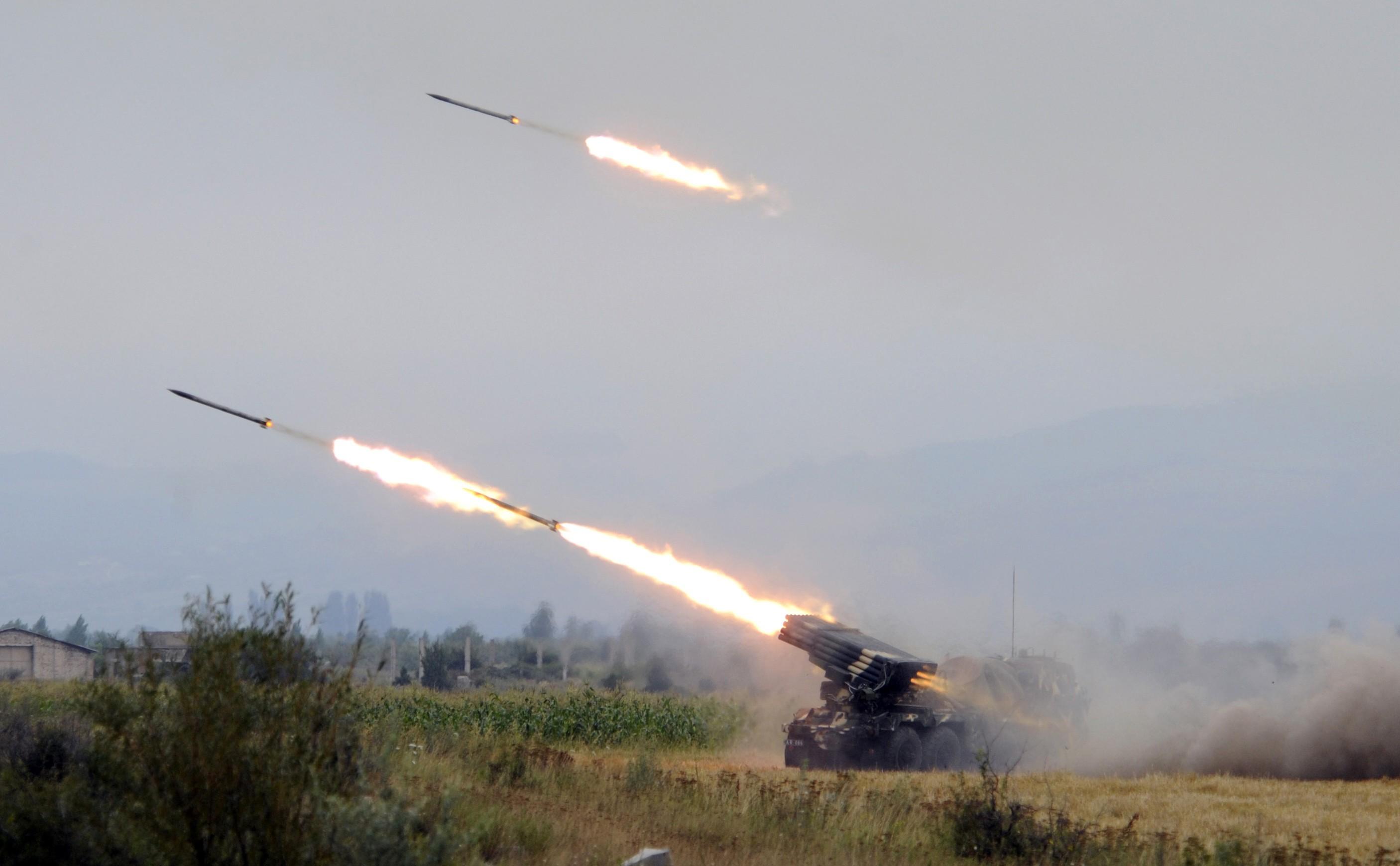 Грузинские войска ведут обстрел Цхинвали