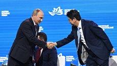 Рабочая поездка президента РФ В. Путина в Приморский край. День третий