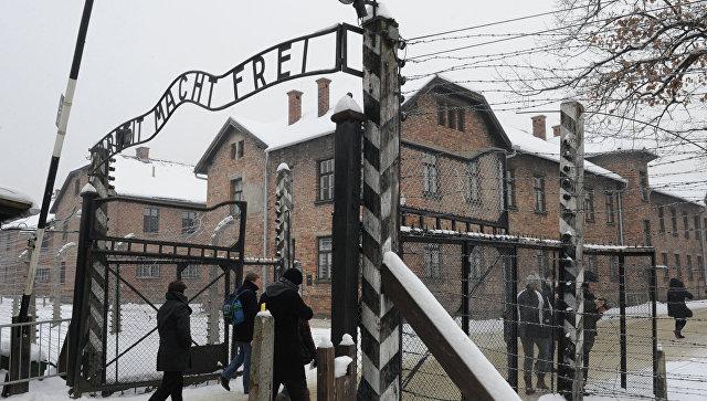 Концлагерь Аушвиц-Биркенау (Освенцим). Архивное фото