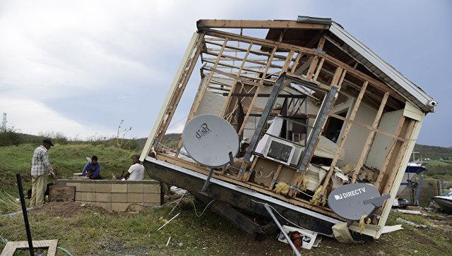 Последствия урагана Ирма. Архивное фото
