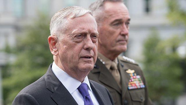 США хотят удерживать КНДР дипломатическим путем— руководитель Пентагона
