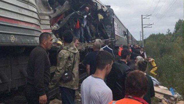 В клинике вЮгре погибла пострадавшая при столкновении поезда и грузового автомобиля