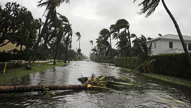 Последствия урагана Ирма во Флориде. 10 сентября 2017