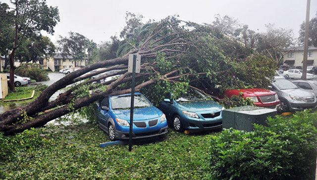 Трамп оказался невкурсе существования ураганов 5-той категории опасности