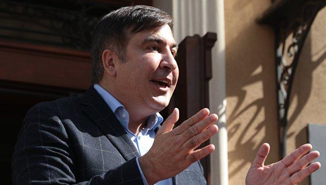 Бывший президент Грузии, экс-губернатор Одесской области Михаил Саакашвили. Архивное фото