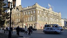 Здание администрации города Саратова. Архивное фото