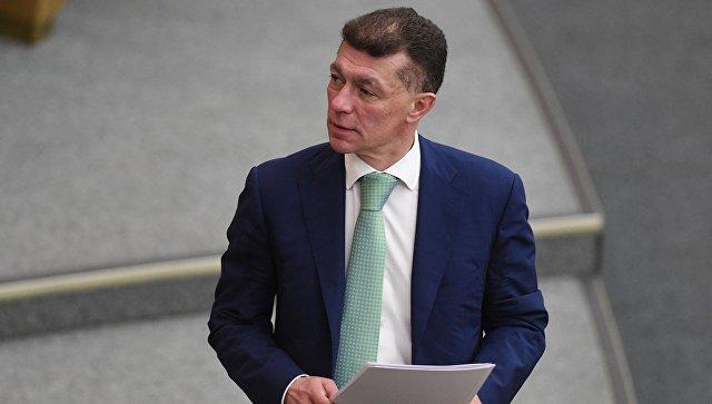 Министр труда и социальной защиты России Максим Топилин. Архивное фото