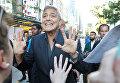 Актер Джордж Клуни на Международном кинофестивале в Торонто