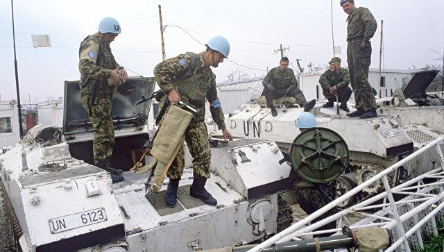 Миротворческие силы ООН. Архивное фото