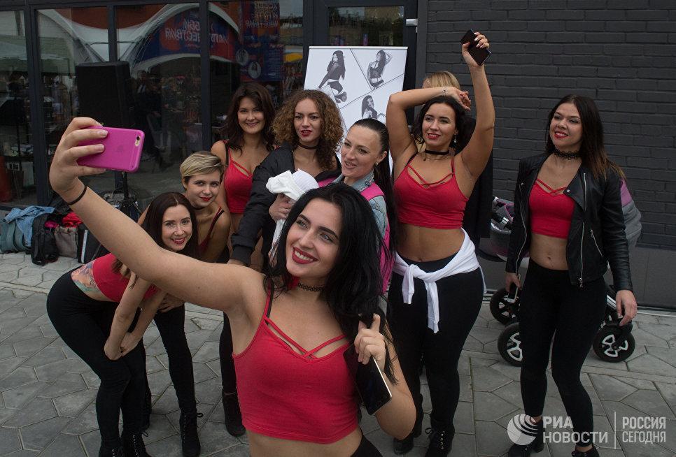 Участники национального фестиваля видеоблогеров Видфест в Москве