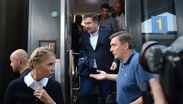 Украинское руководство ничего небудет делать сСаакашвили,— Гройсман