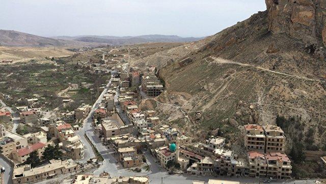Впровинции Дамаск восстанавливают христианский храмовый комплекс