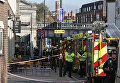Ситуация у станции метро Parsons Green в Лондоне. 15 сентября 2017