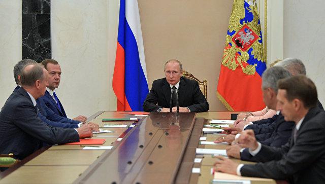 Путин обсудил сСовбезом функционирование исоздание зон деэскалации вСирии