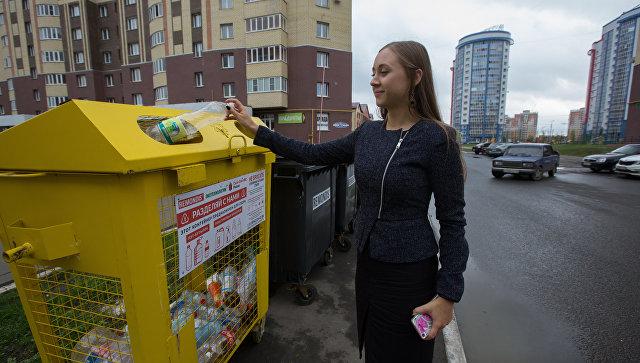 Раздельный сбор мусора в Саранске