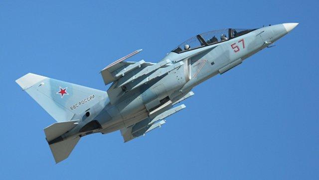 Самолет Як-130. Архивное фото.
