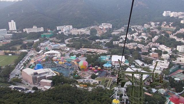 Парк развлечений и океанариум Оушен-Парк (Ocean Park). Архивное фото